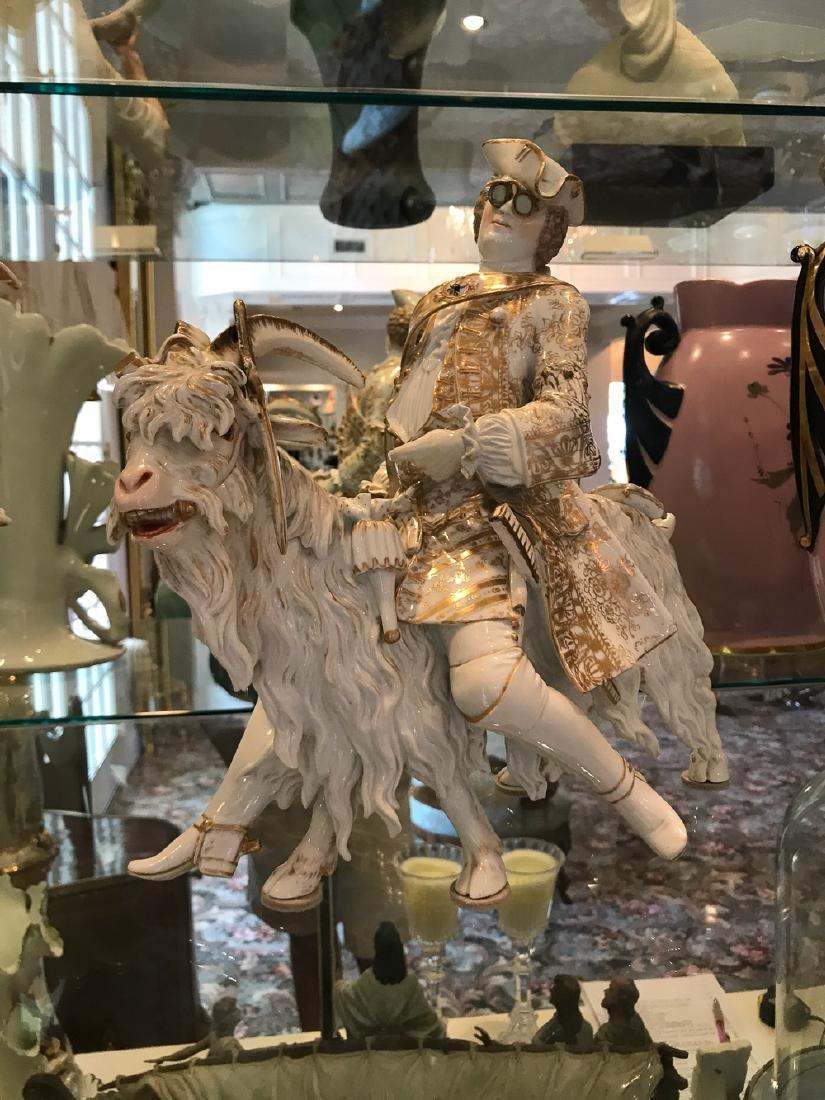 "Rare Volkstedt Porcelain ""tailor"" - 3"