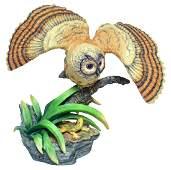 """Boehm Porcelain """"long-eared Owl"""""""