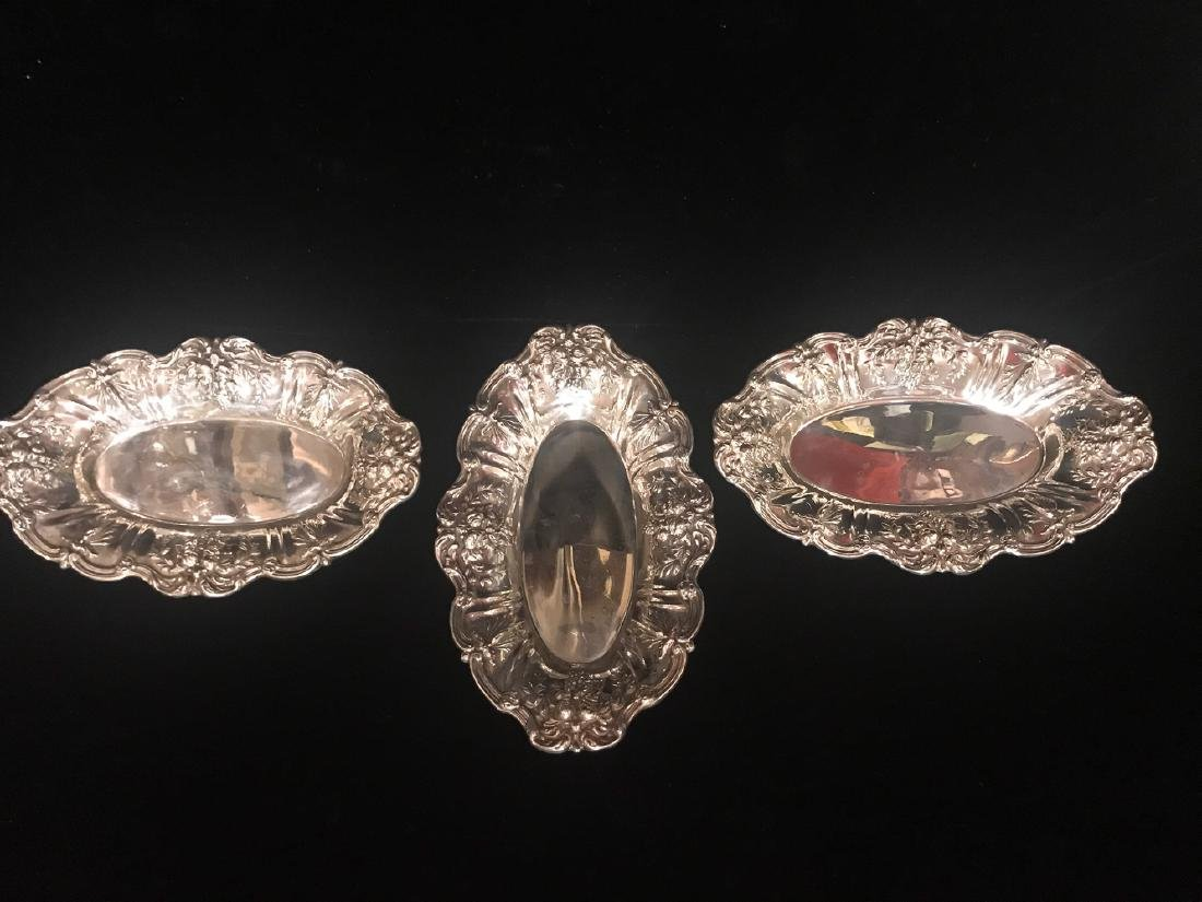 Three Reed And Barton Sterling Trays.