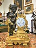 Exceptional 19th Century French Mantel Clock.