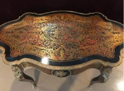 19th Century French Boulle Desk. - 2