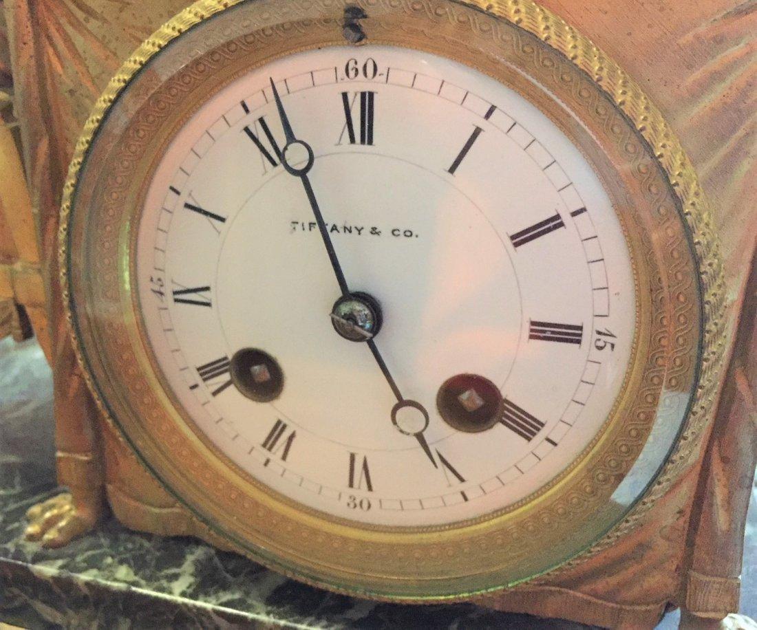 19th Century French Bronze Clock. - 4