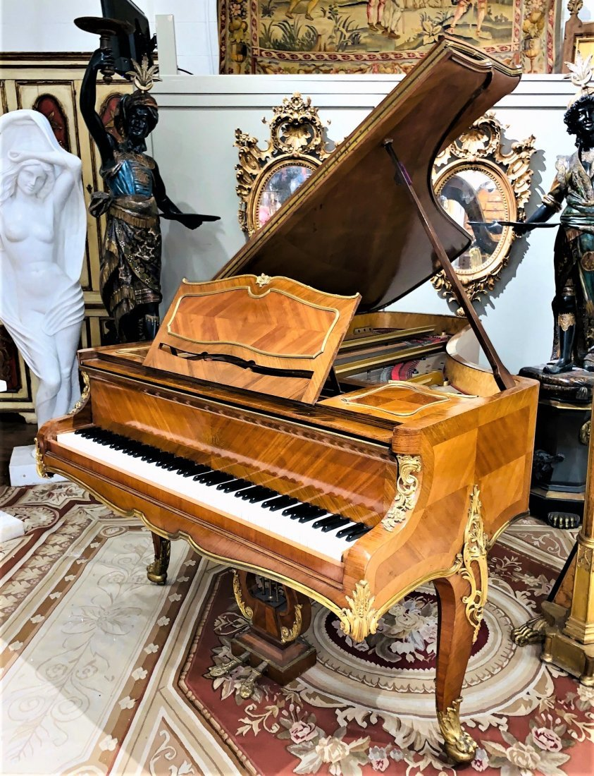 French Kingwood Grand Piano.