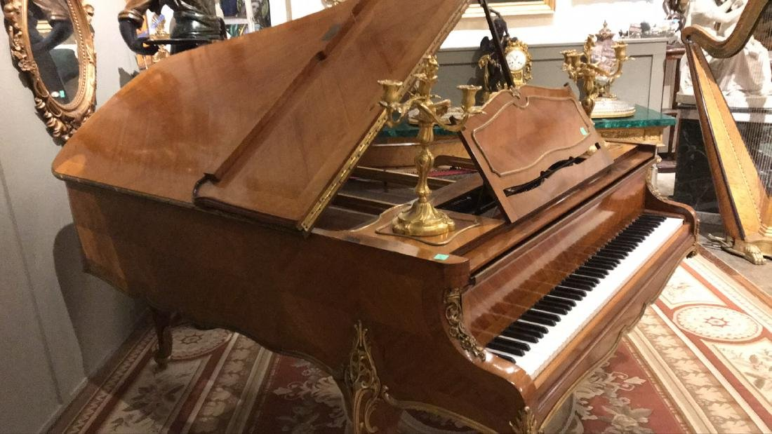 French Kingwood Grand Piano. - 6