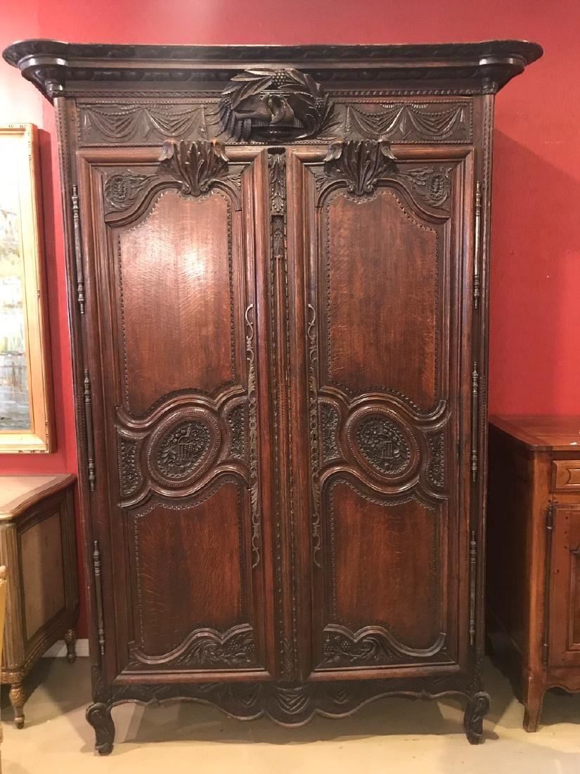 19th Century French Armoire.