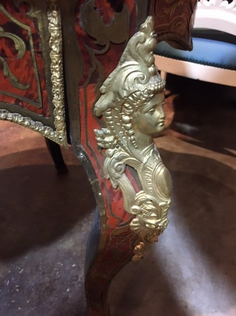 Antique French Boulle Center Table. - 2
