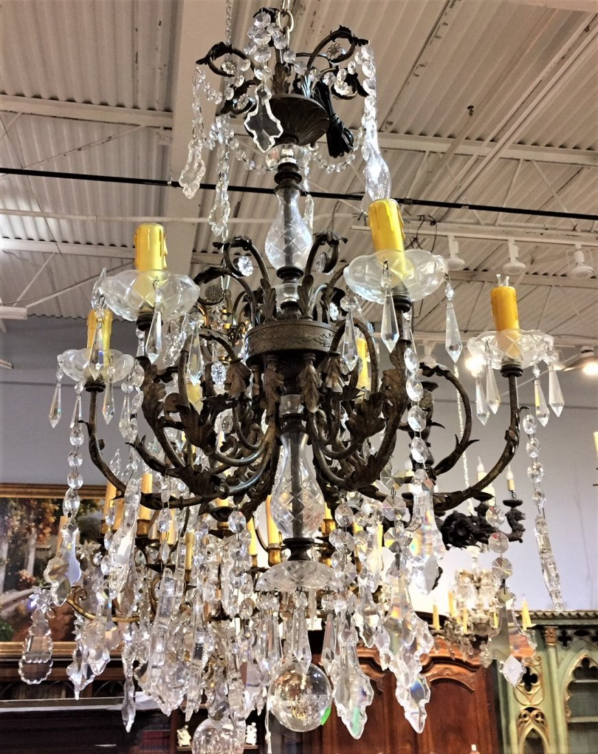 French Style Crystal Chandelier.
