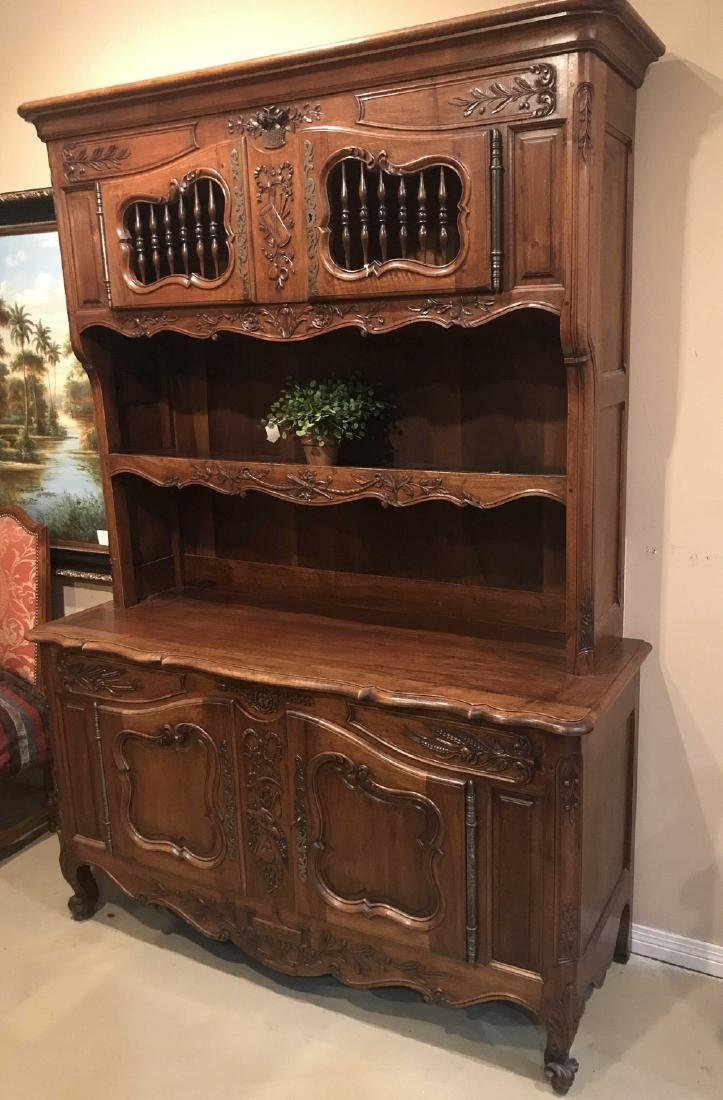 Antique French Walnut Vasselier.