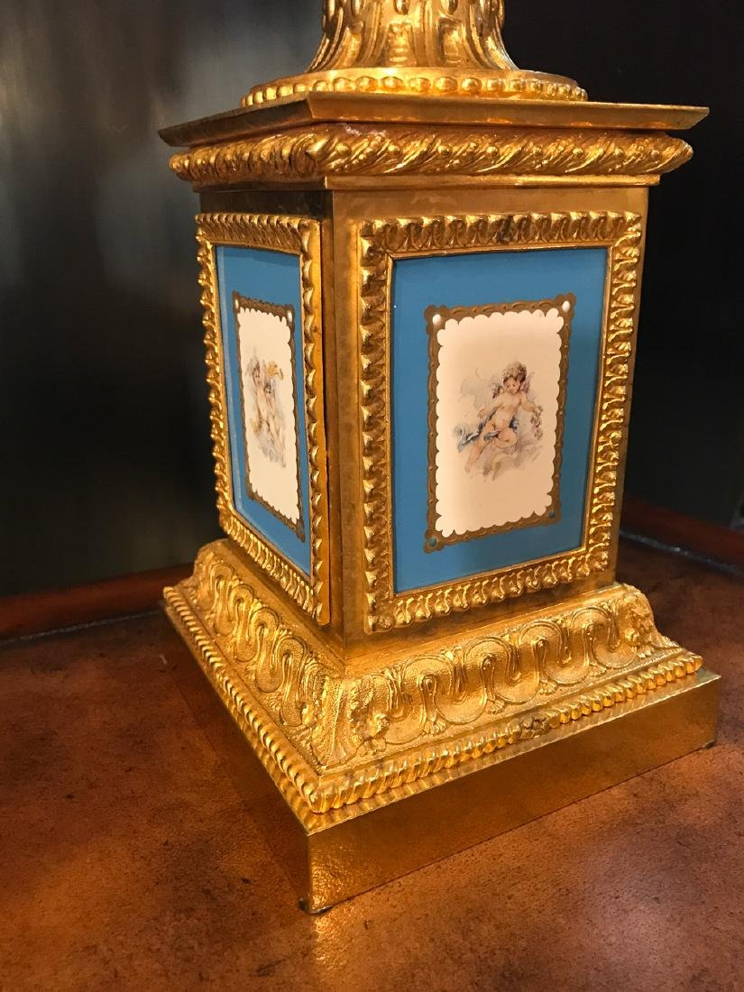 Pair Of French Sevres Porcelain Tazzas. - 5