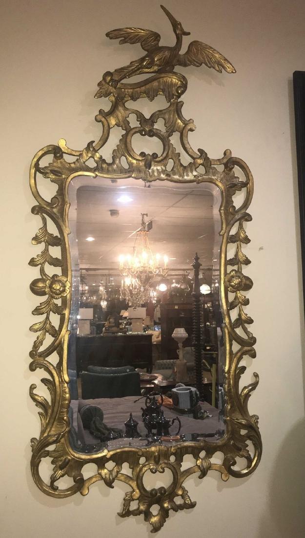 Pair Of English Gold Gilt Mirrors. - 2