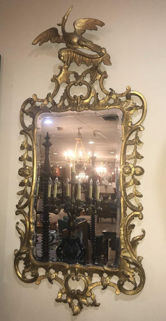 Pair Of English Gold Gilt Mirrors. - 3
