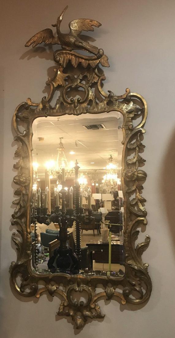 Pair Of English Gold Gilt Mirrors. - 4