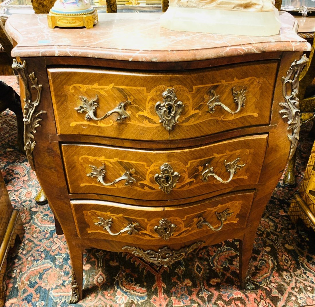 19th Century French Kingwood Commode.
