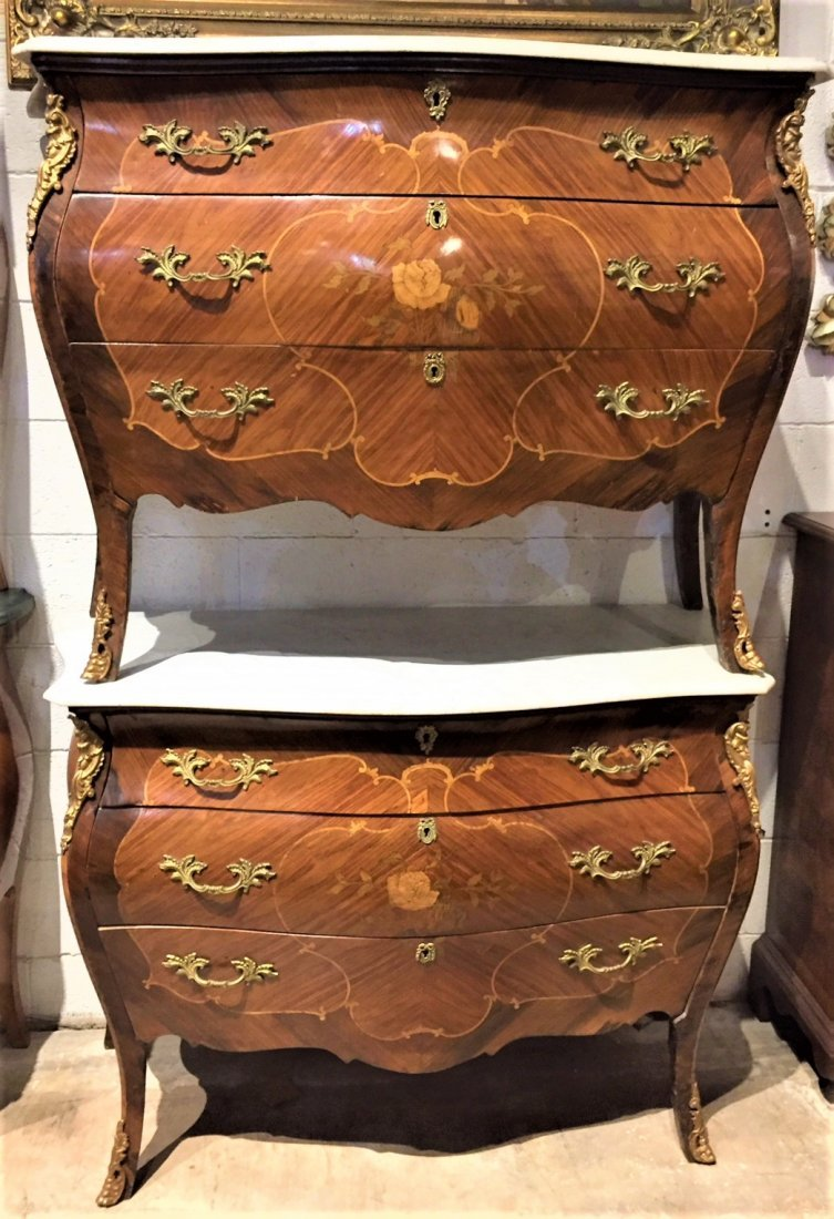 Pair Of 19th Century French Commodes.