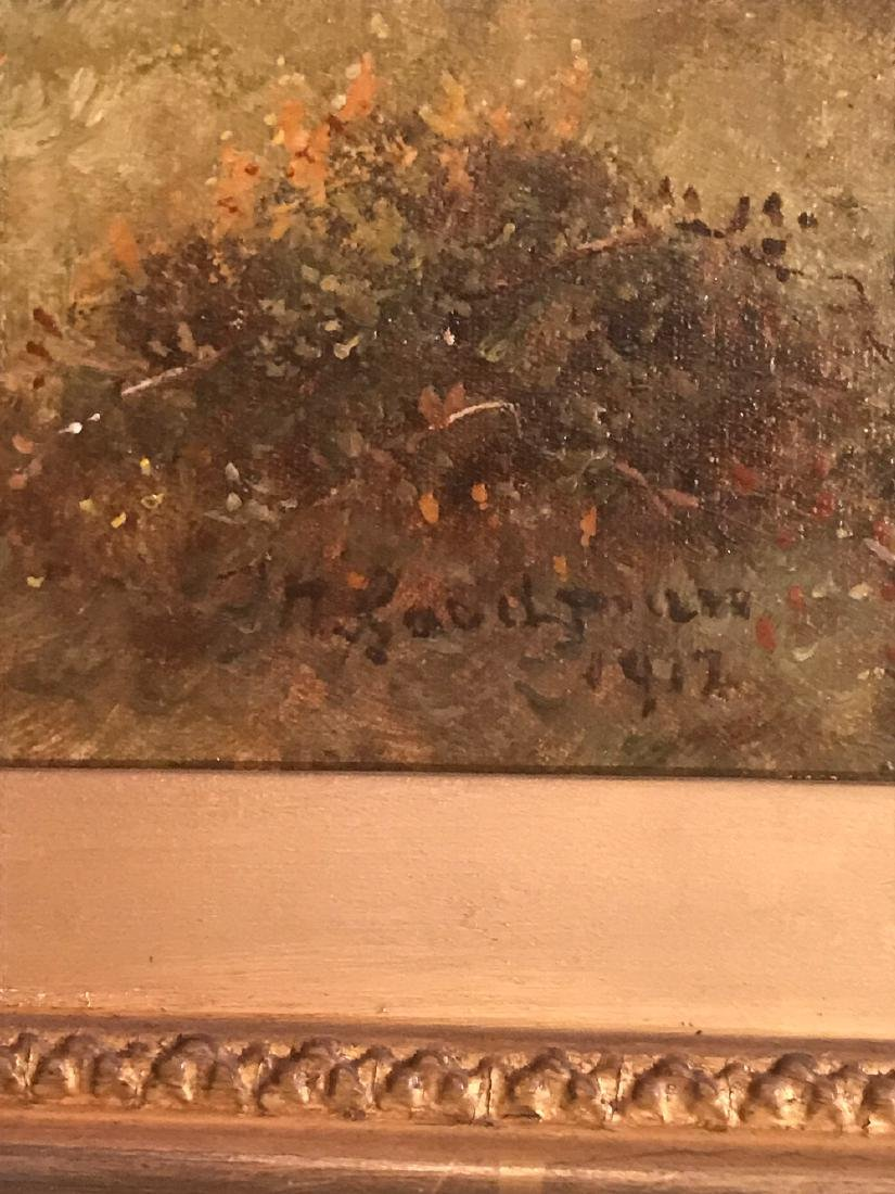 Antique English Oil On Canvas Painting. - 3