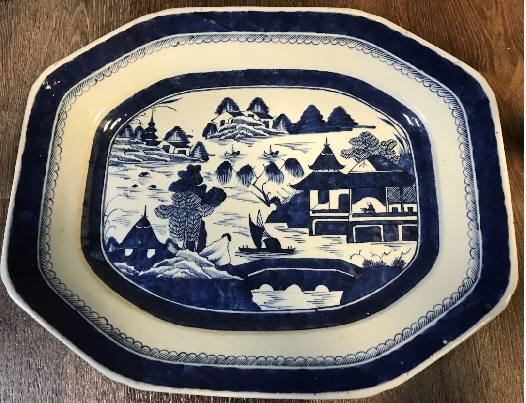 Early Chinese Export Platter.
