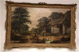 19th Century English Oil Painting