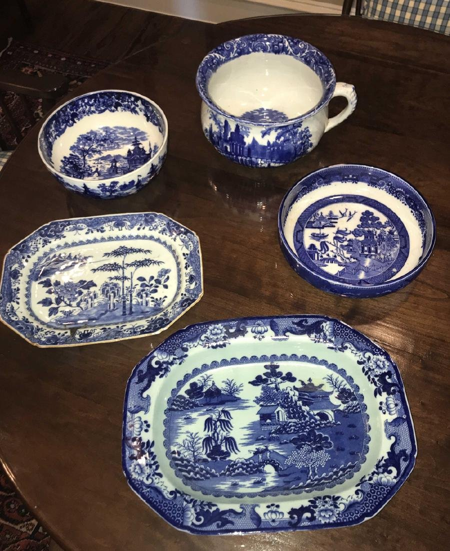 5 Piece Porcelain Lot.
