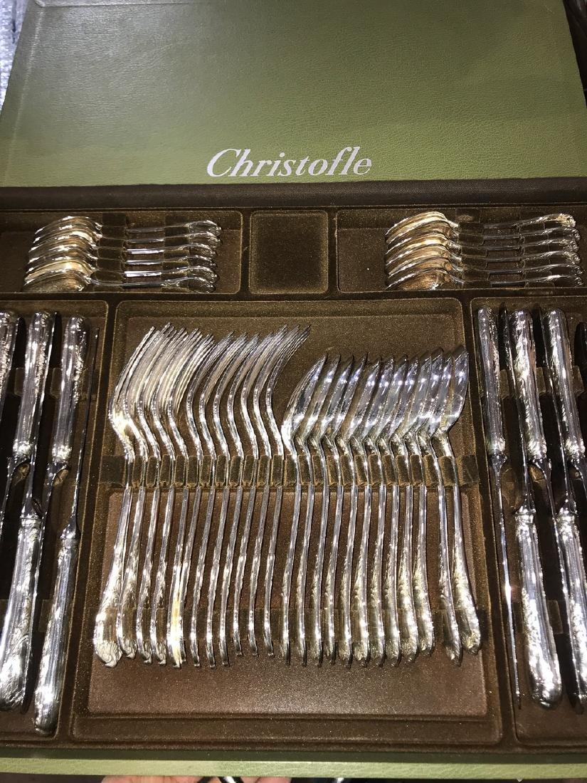 Christofle Marly Silverplated Flatware, 148 Pcs.