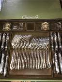 Christofle Marly Silverplated Flatware 148 Pcs