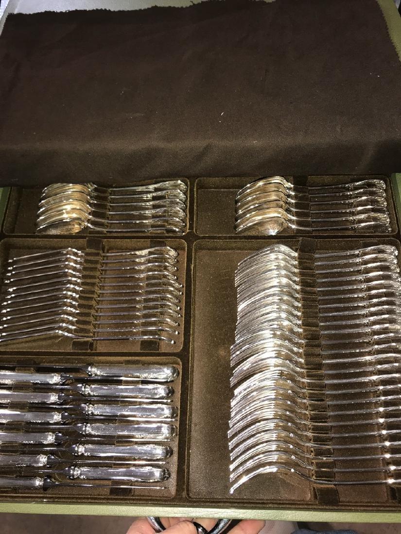Christofle Marly Silverplated Flatware, 148 Pcs. - 2