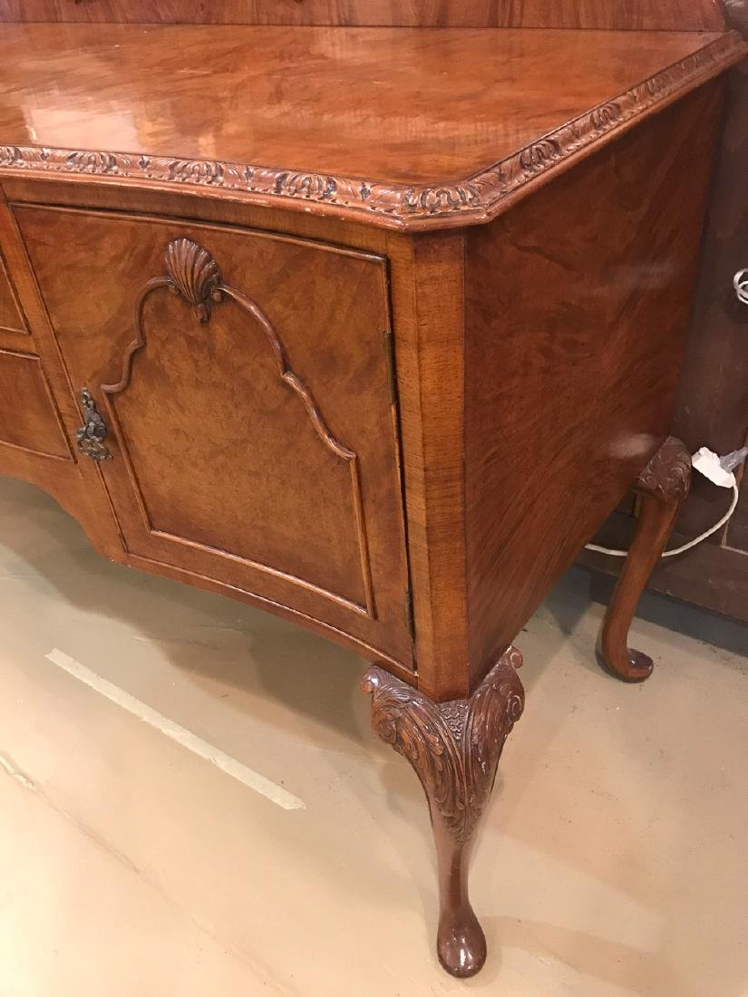 English Queen Anne Sideboard. - 3