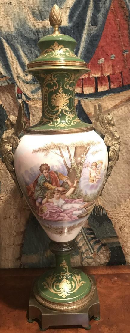 19th Century French Sevres Vase.