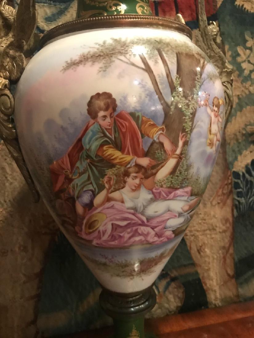 19th Century French Sevres Vase. - 2