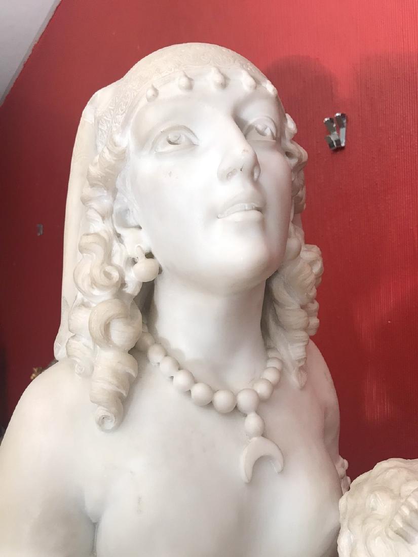 19th Century Italian Statue By Biggi Fausto. - 4