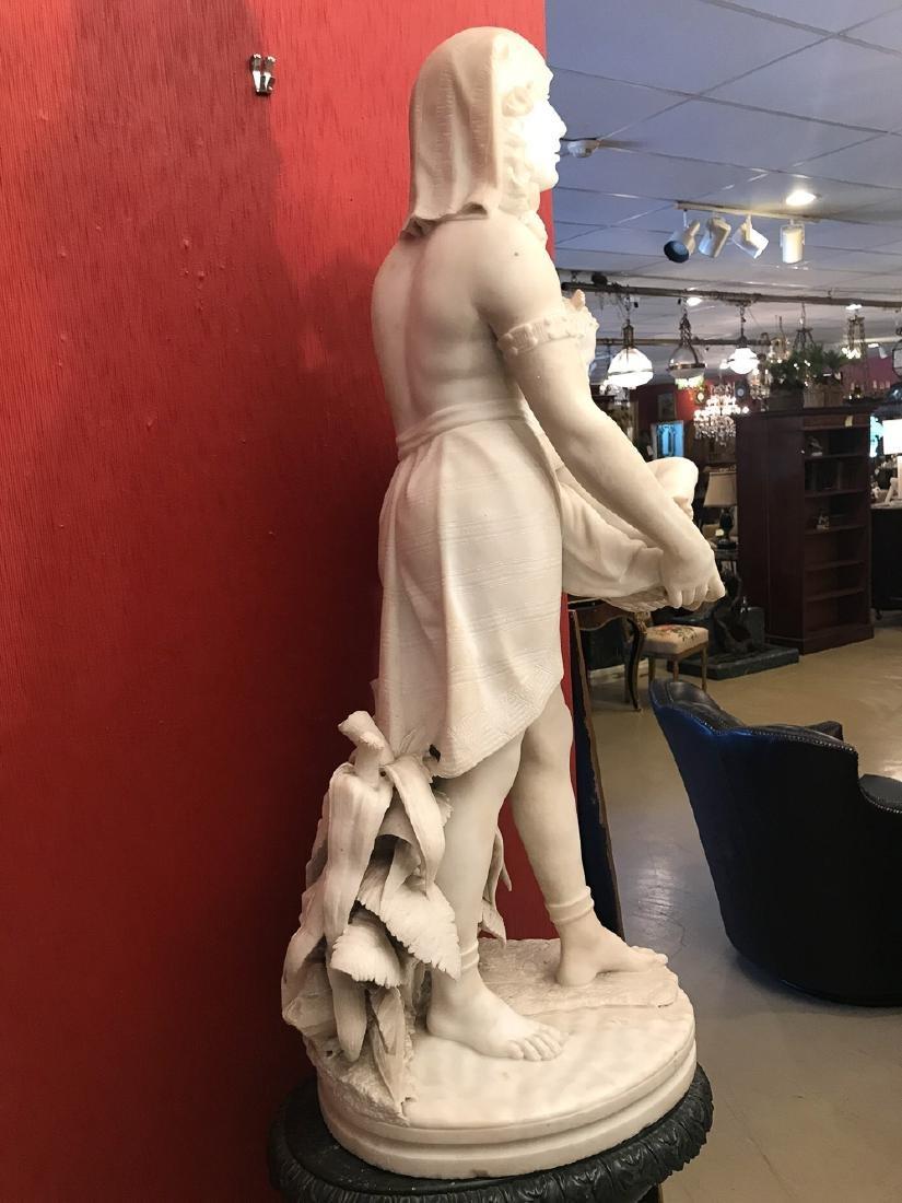 19th Century Italian Statue By Biggi Fausto. - 5