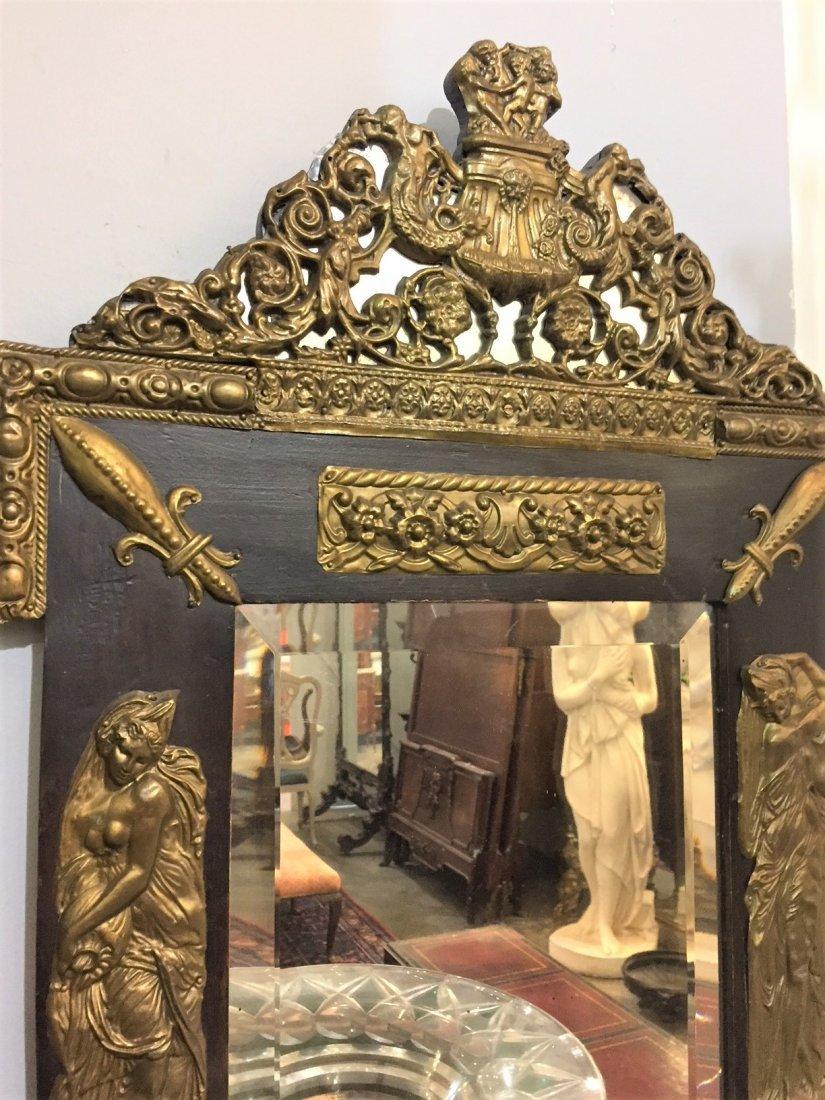 Napoleon Iii Wall Mirror. - 2