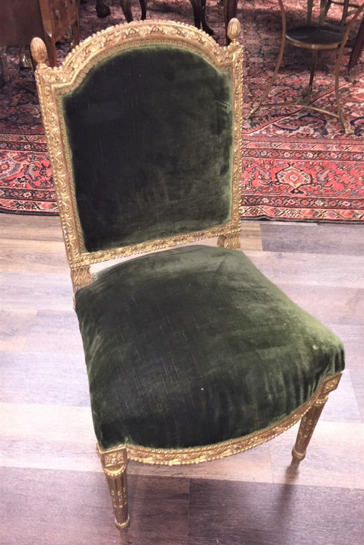Antique French Chair. - 3
