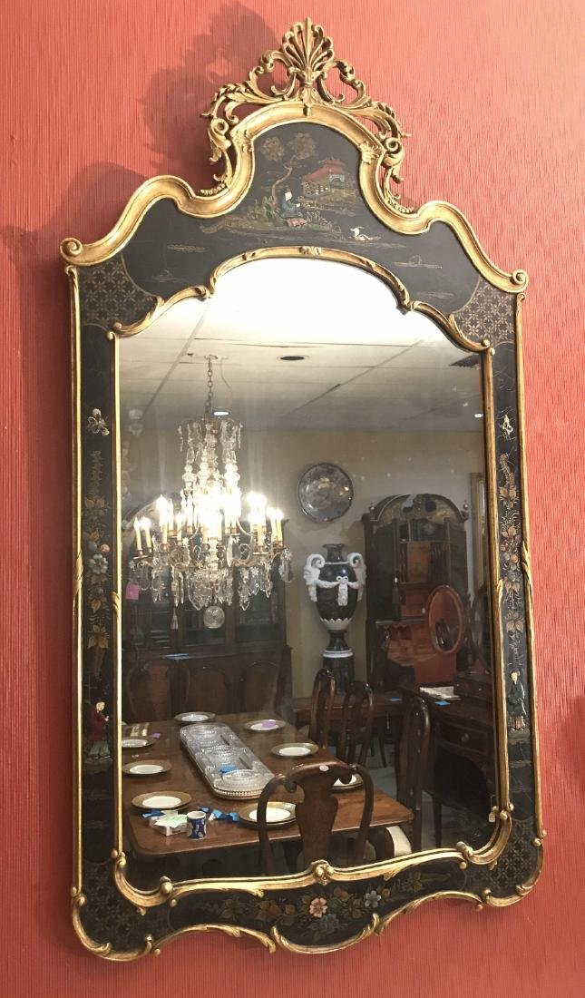 D Milch & Son Chinoiserie Mirror