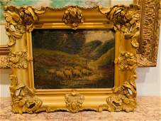 19th Century English Oil Painting.