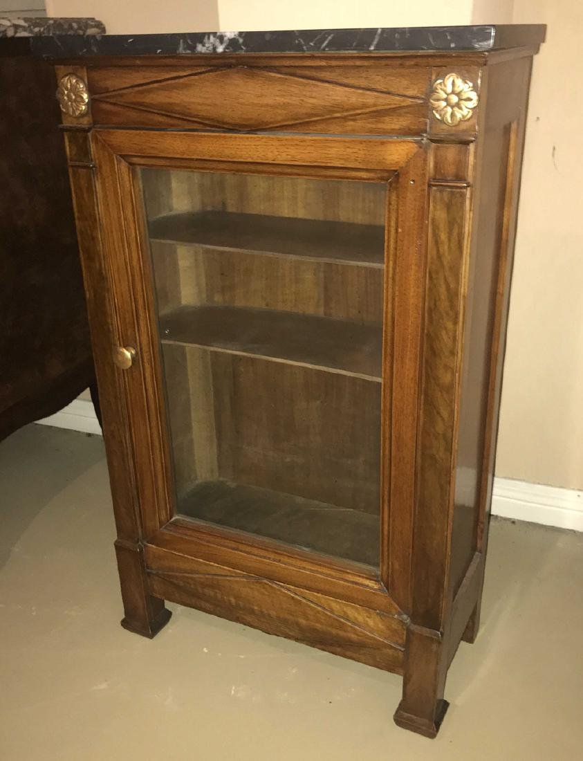 19th Century French Rosewood Cabinet.