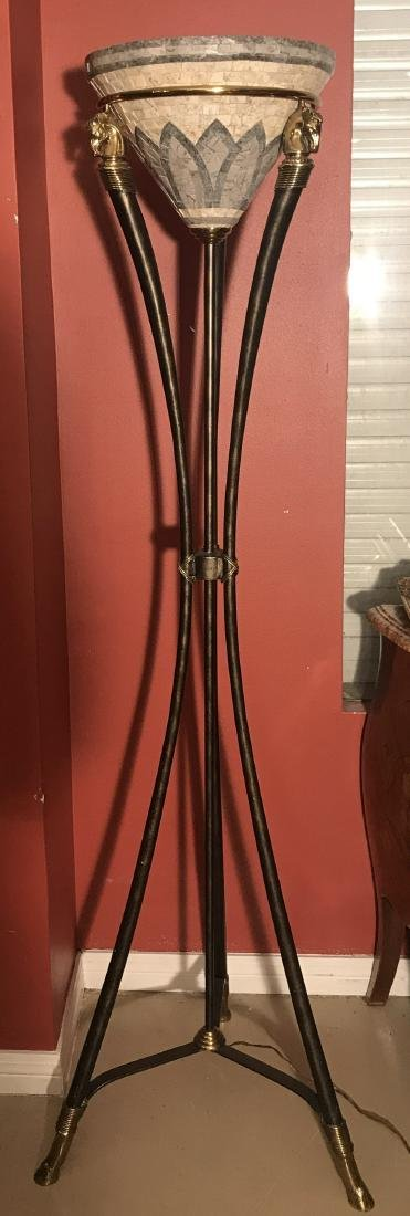 Maitland Smith Neo Classical Floor Lamp.