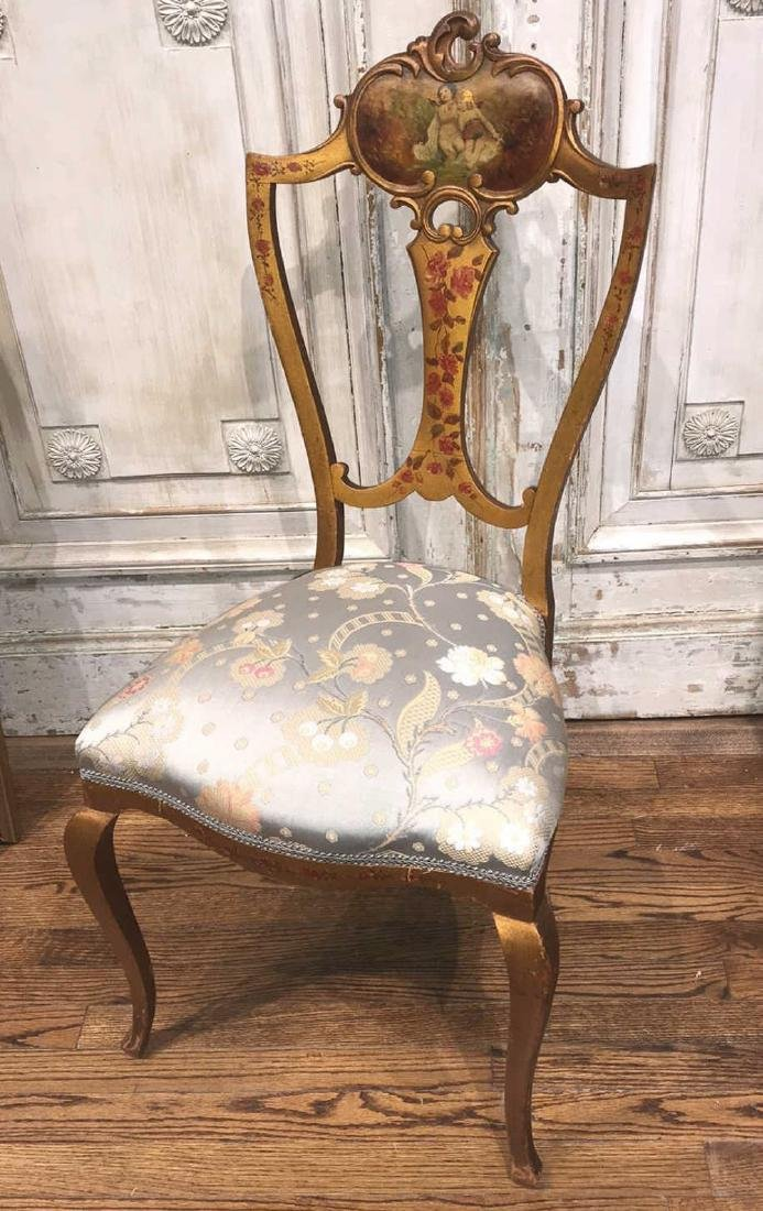 French Painted Chair