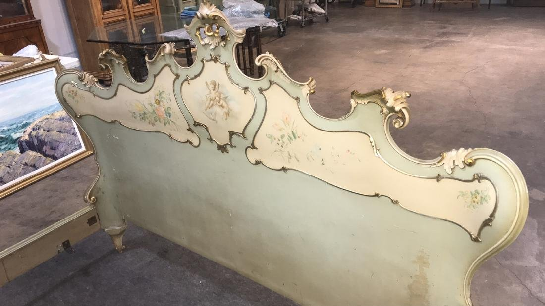 Antique Italian Bed. - 7