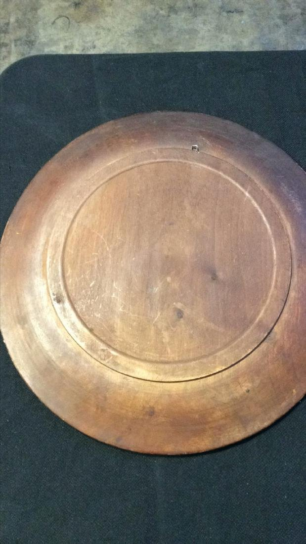 Carved Wooden Charger - 2