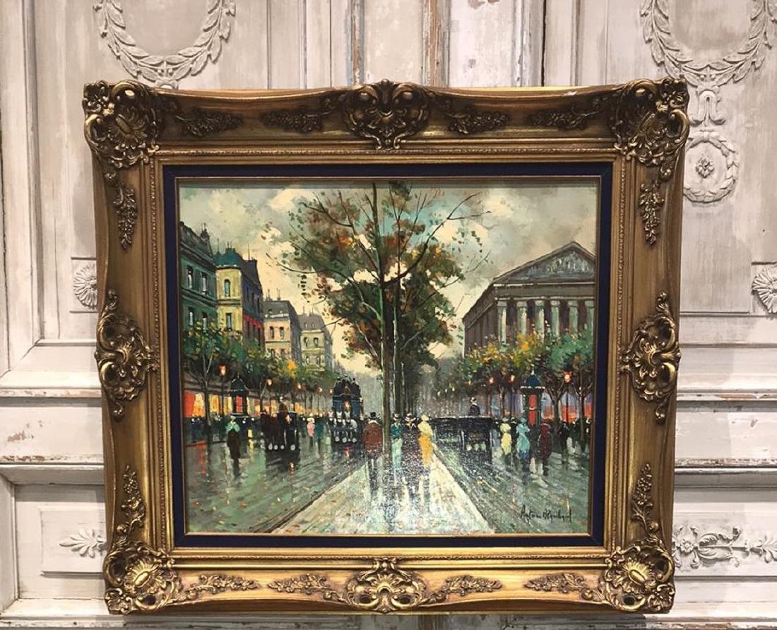 Antoine Blanchard, Parisian Oil Painting.
