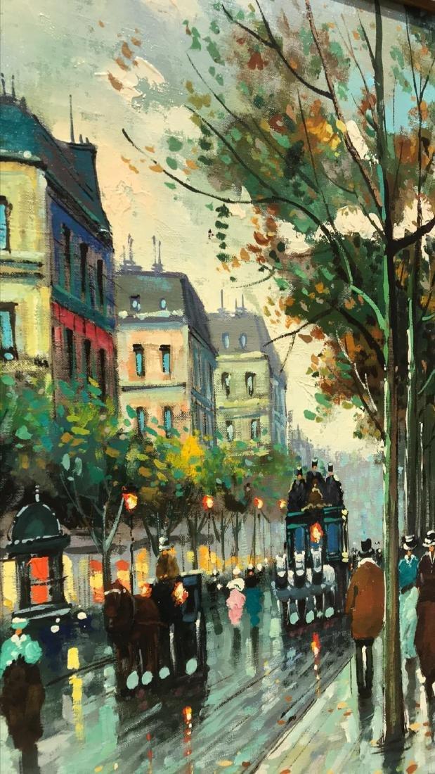 Antoine Blanchard, Parisian Oil Painting. - 5