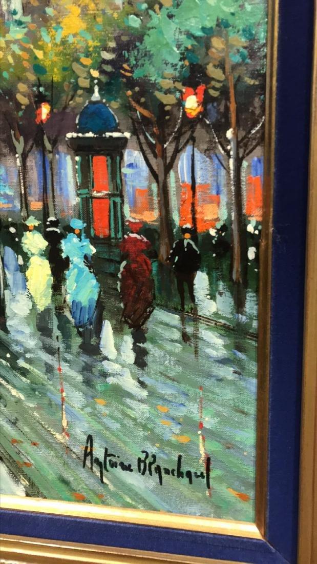 Antoine Blanchard, Parisian Oil Painting. - 6
