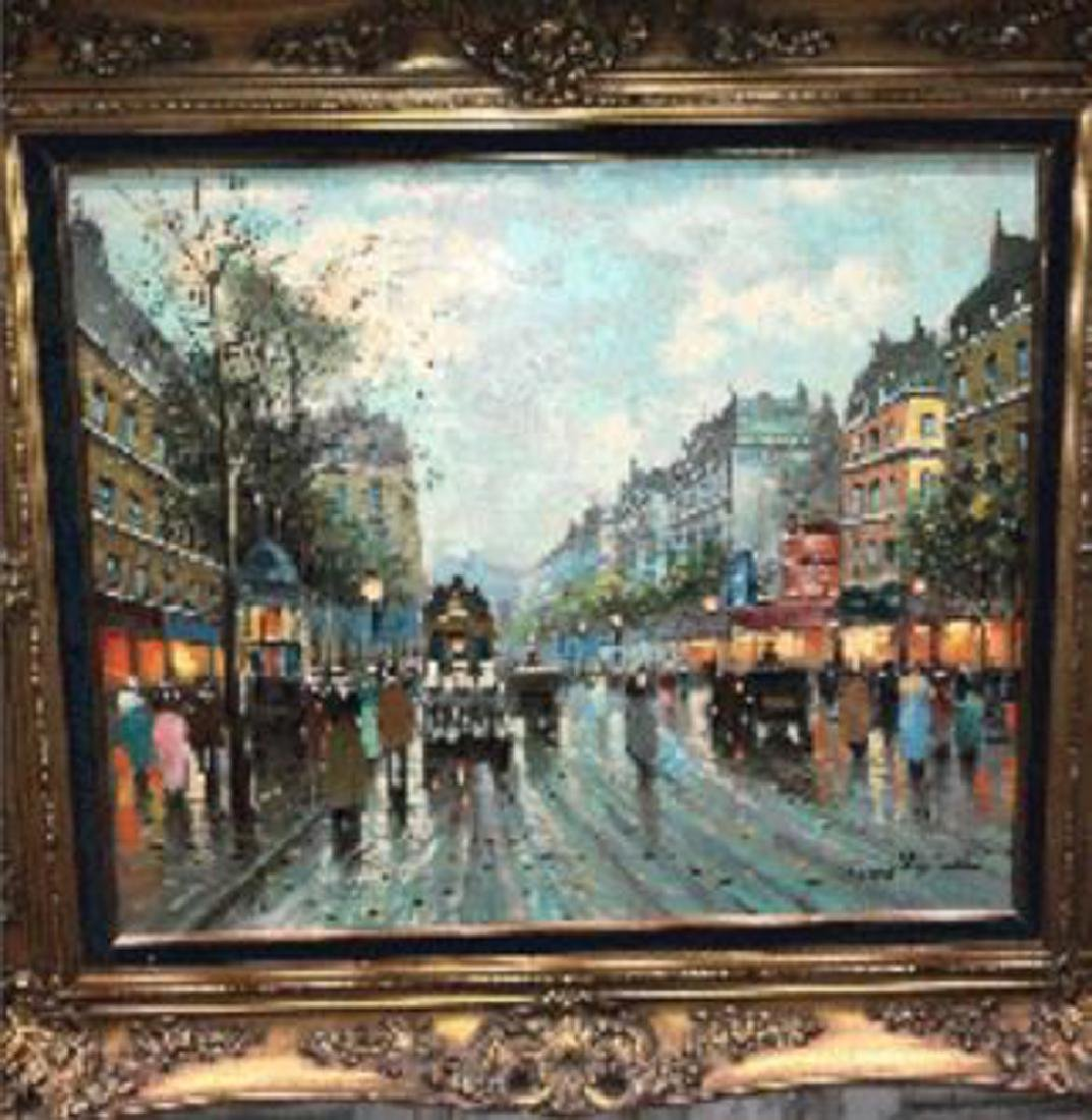 Antoine Blanchard, Parisian Oil Painting. - 2