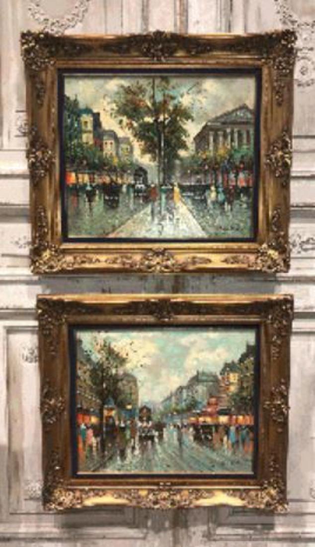 Antoine Blanchard, Parisian Oil Painting. - 4