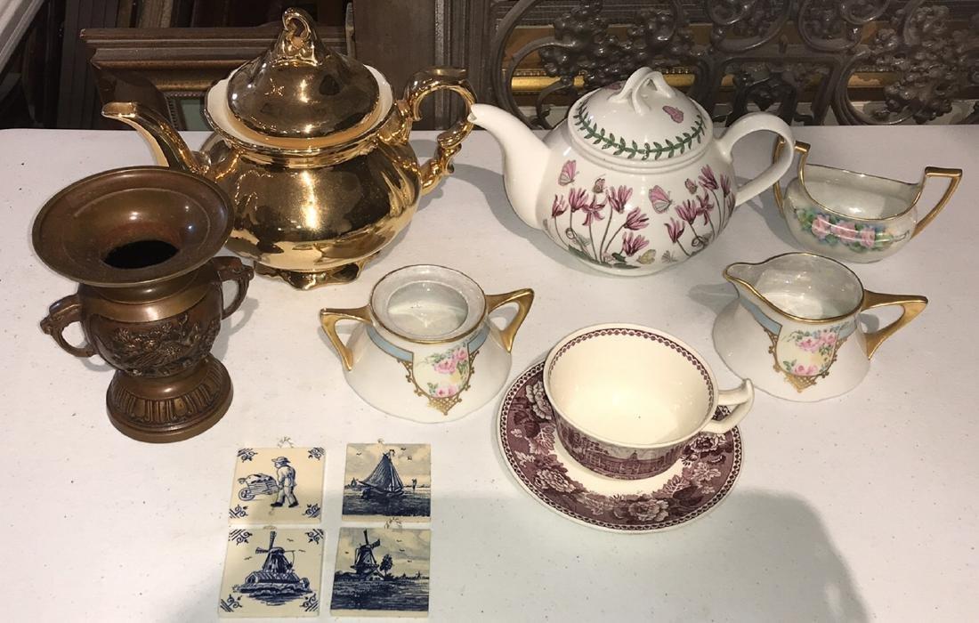 11 Pc Lot Of Miscellaneous Porcelain