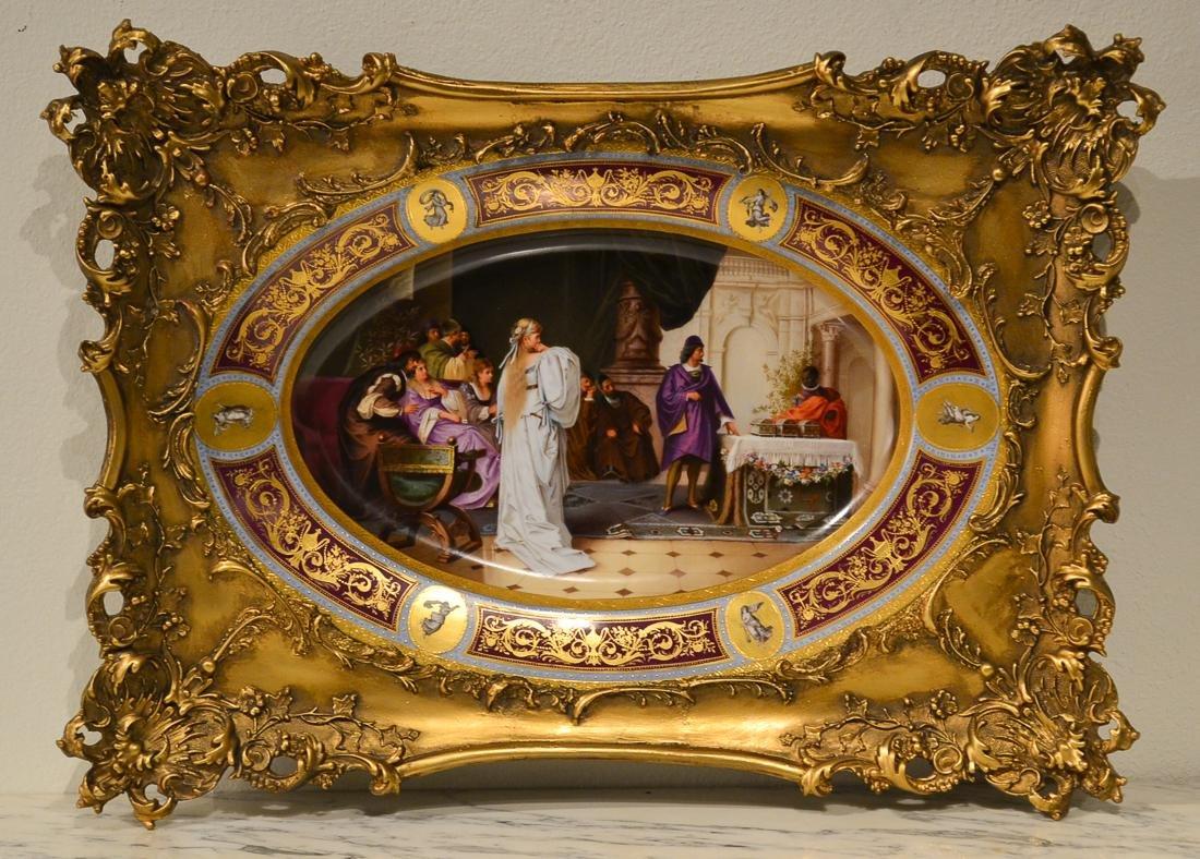 19th Century Royal Vienna Platter.