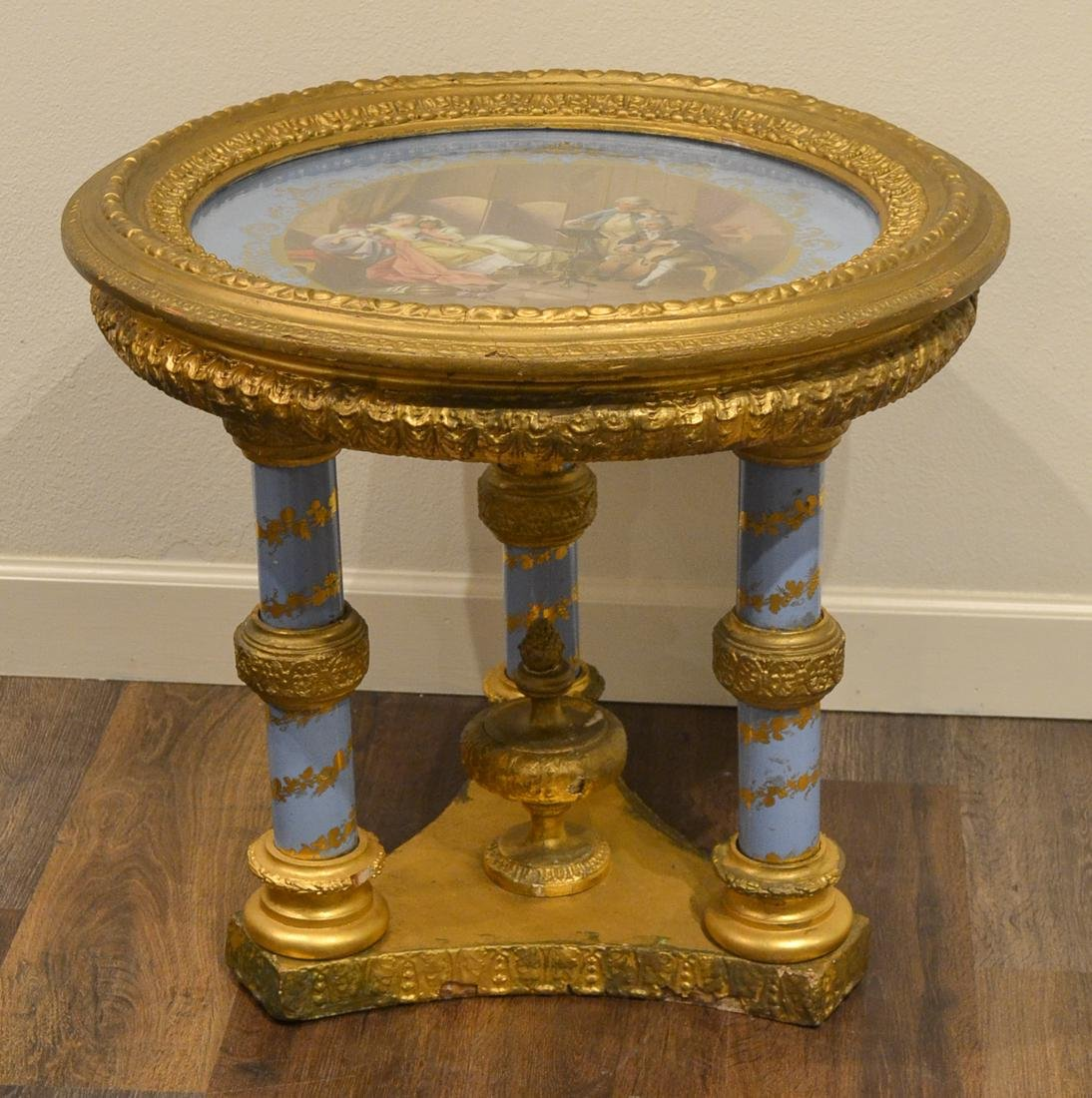 Royal Vienna Porcelain Table.