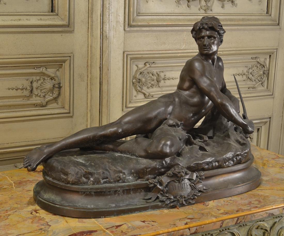 Leon Bonduel, French Bronze Sculpture.