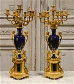 Pair Of French Candelabra C 1870