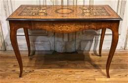 Italian Inlaid Table
